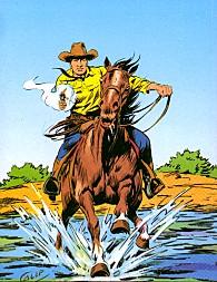 Tex a cavallo